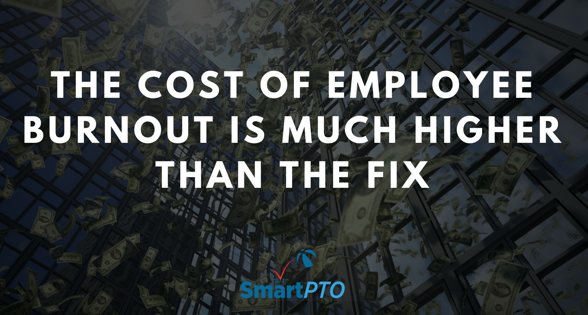 cost of employee burnout